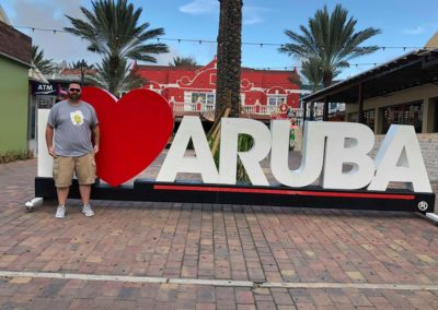 Scattering Sunshine in Aruba