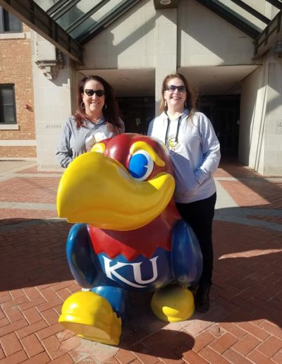 Scattering Sunshine at University of Kansas